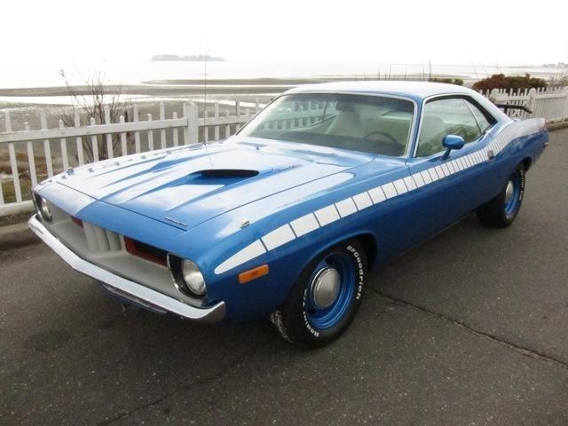 1973 Plymouth Cuda Automatic Blue