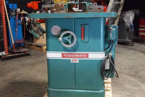 1973 Powermatic Shaper #26 - Xtra Spindles/Tooling Incl !!