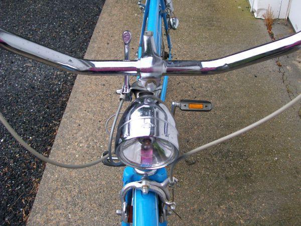 1973 Schwinn Suburban Baby Blue Vintage Antique Bike