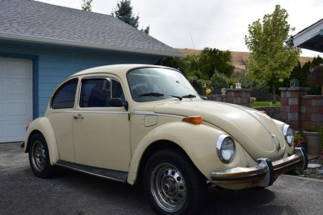 1973 Super Beetle - Volkswagen VW Bug - Stick - White for ...
