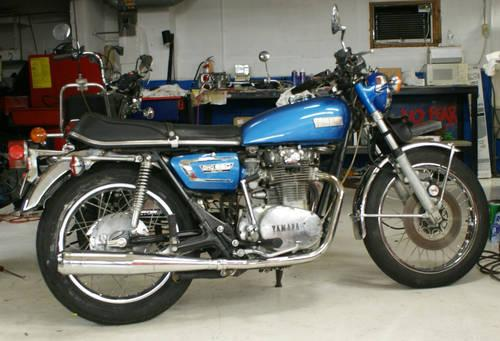 1973 yamaha tx650 vintage bike for sale in monroe for 1973 yamaha tx650