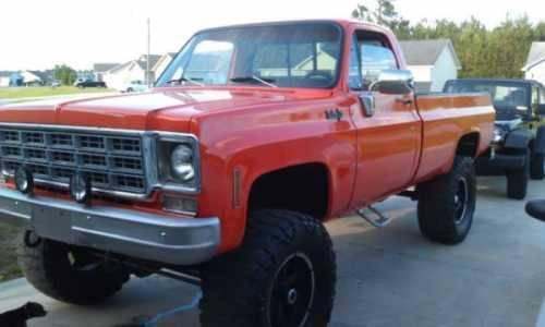 1973 chevrolet k10 classic truck in hubert nc for sale in hubert north carolina classified. Black Bedroom Furniture Sets. Home Design Ideas