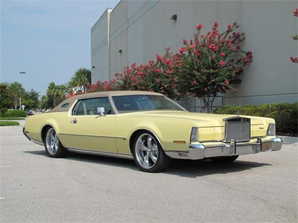 1973 lincoln continental mark iv for sale in orlando florida classified. Black Bedroom Furniture Sets. Home Design Ideas