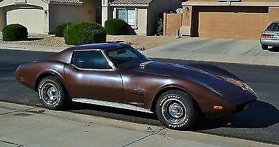 1974 Chevrolet Corvette Base Coupe 2-Door 5 7L   4 Speed  T Tops