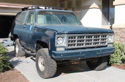 1974 Chevy Blazer K5 4x4 For Sale In Ventura California