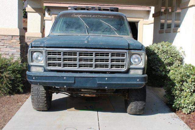 1974 Chevy Blazer K5 Jimmy 4x4 For Sale In San Buenaventura California Classified
