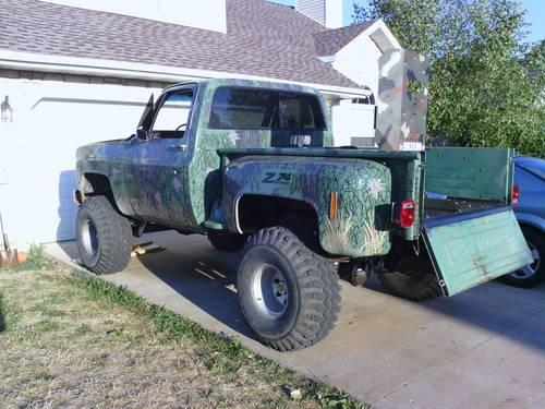 1974 chevy k10 4x4 for sale in finley missouri classified. Black Bedroom Furniture Sets. Home Design Ideas