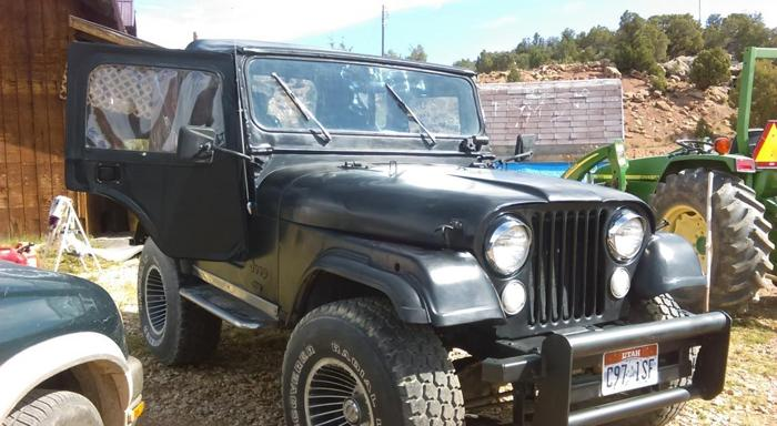 1974 cj5 jeep for sale in center creek utah classified. Black Bedroom Furniture Sets. Home Design Ideas
