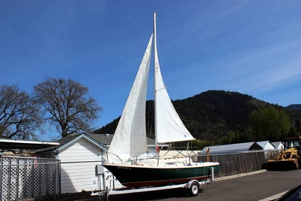 1974 Clipper Marine Sailboat Quot Trailer Sailor Quot For Sale In Grants Pass Oregon Classified