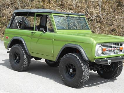 1974 ford bronco for sale in fort wayne indiana classified. Black Bedroom Furniture Sets. Home Design Ideas