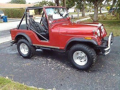 1974 jeep cj5 renegade w/ AMC 360