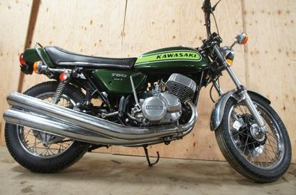 1974 KAWASAKI H2 750 Free Shipping Worldwide