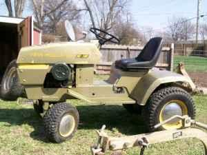 1974 New Holland S 16 Garden Tractor And Attachments