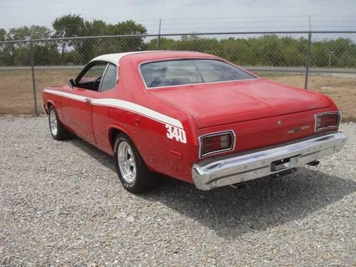 1974 plymouth duster 340 factory sunroof numbers matching car for sale in cole camp missouri. Black Bedroom Furniture Sets. Home Design Ideas