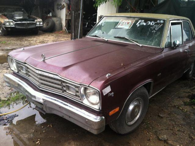 1974 plymouth valiant 4 dr for sale in san antonio texas classified. Black Bedroom Furniture Sets. Home Design Ideas