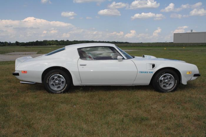 1974 Pontiac Trans Am Trans White For Sale In Miami