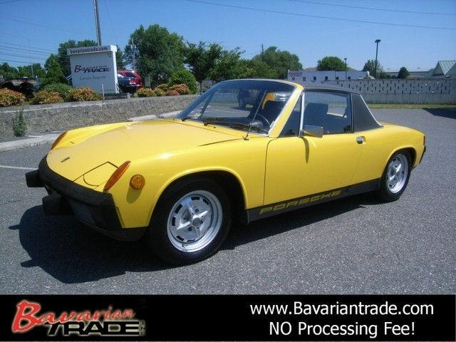1974 porsche 914 for sale in lynchburg virginia classified. Black Bedroom Furniture Sets. Home Design Ideas