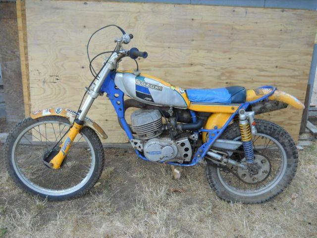 1974 suzuki rl250l exacta trials bike for sale in portland. Black Bedroom Furniture Sets. Home Design Ideas