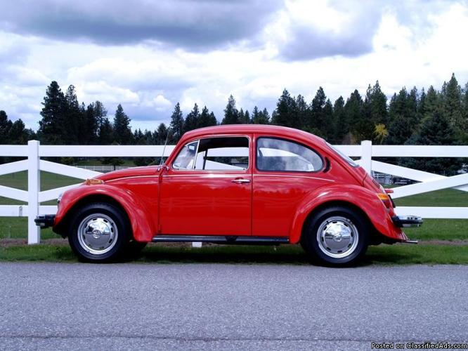 1974 Volkswagen Beetle with just 42,000 miles!