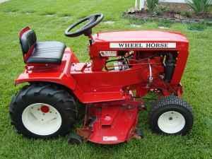 1974 WheelHorse C-160 Automatic Lawn Tractor - $900