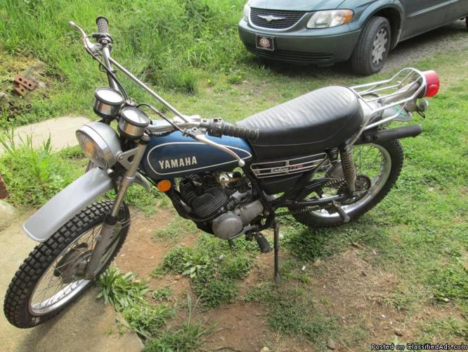 1974 yamaha dt175 two stroke enduro for sale in pittsboro north carolina classified. Black Bedroom Furniture Sets. Home Design Ideas