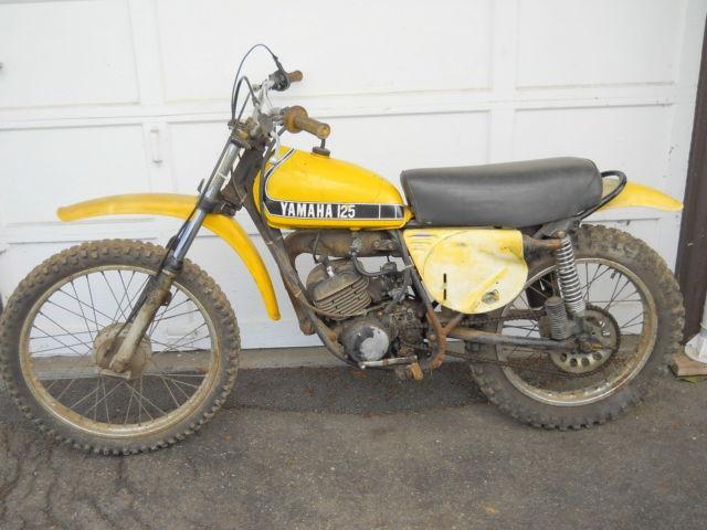 1974 YAMAHA MX125 VINTAGE MOTOCROSS MOTORCYCLE