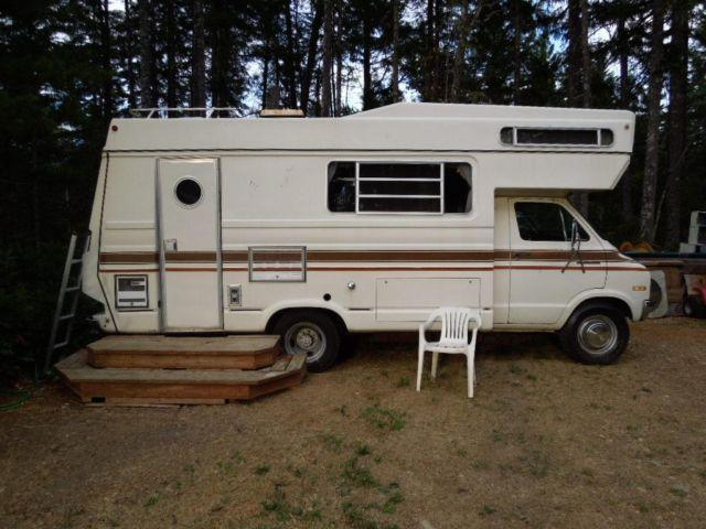 1975 20ft  Class C American Clipper motorhome on Dodge chassie