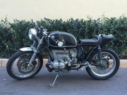 1975 BMW R90 6 Vintage Cafe Racer Motorcycle Superbike