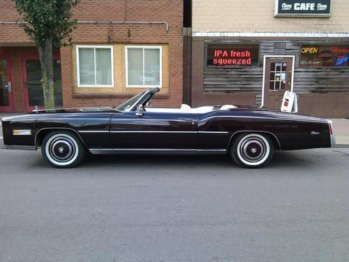 1975 Cadillac Eldorado Convertible For Sale In Clairton
