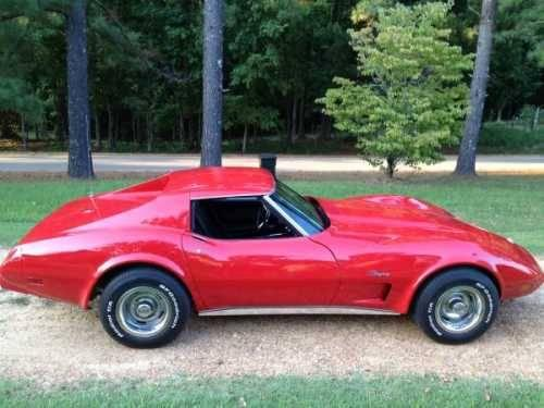 1975 chevrolet corvette stingray high performance in holcomb ms for sale in holcomb. Black Bedroom Furniture Sets. Home Design Ideas