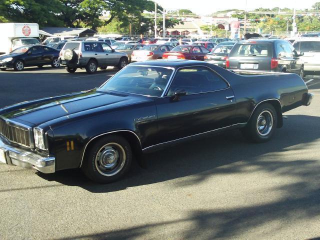 1975 Chevrolet El Camino For Sale In Pearl City Hawaii