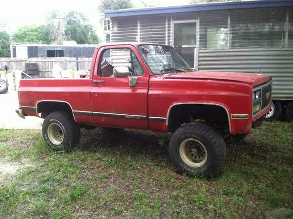 1975 Chevy 1985 GMC Mud Trucks - $2200