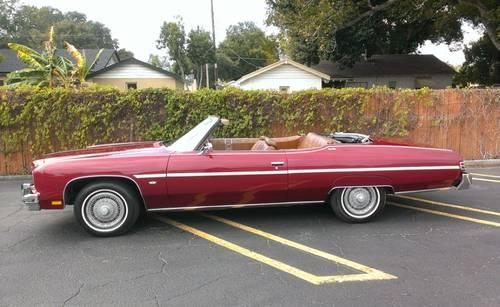 1975 Chevy Caprice Classic Convertible For Sale In Orlando