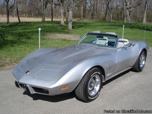 1975 corvette convertible for sale in cassadaga new york classified. Cars Review. Best American Auto & Cars Review