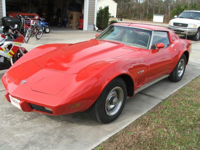 1975 corvette stingray for sale in richlands north carolina. Cars Review. Best American Auto & Cars Review