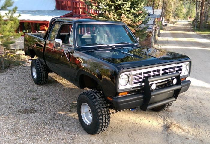 Dodge Power Wagon Black Extended Club Cab X Truck Americanlisted on 1995 Dodge Dakota Club Cab 4x4