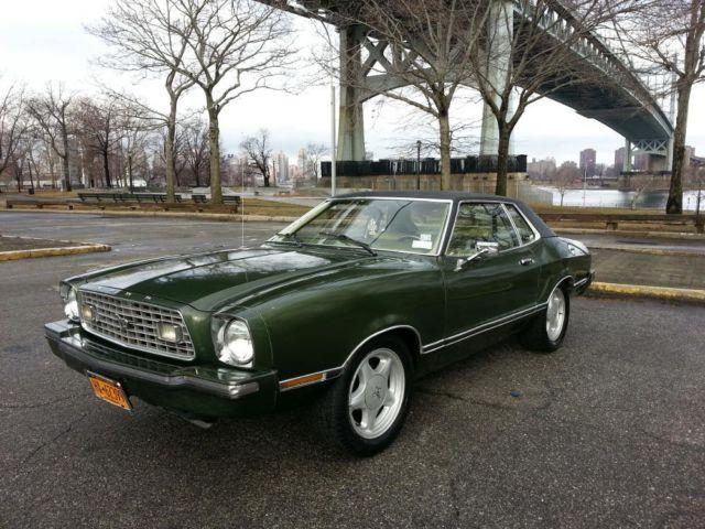 1975 ford mustang ii for sale in astoria new york classified. Black Bedroom Furniture Sets. Home Design Ideas