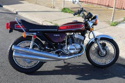 1975 Kawasaki H2 750 Clean Original