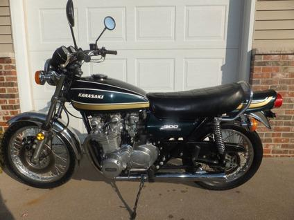 1975 Kawasaki Z1-900 BlackGreen