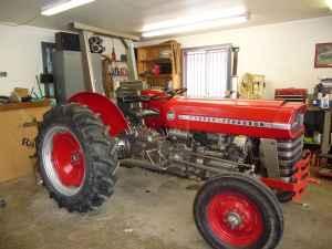 1975 Massey Ferguson 135 utility tractor - $4800 (Bloomington, Indiana)