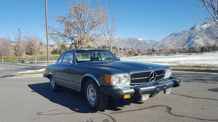 1975 Mercedes-Benz 450SL Base Convertible 2-Door 4.5L