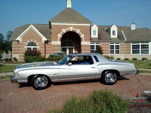 1975 Monte Carlo For Sale In Cincinnati Ohio Classified