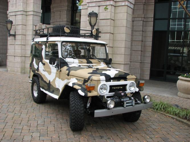 1975 toyota fj 40 land cruiser 4wd for sale in killeen texas classified. Black Bedroom Furniture Sets. Home Design Ideas