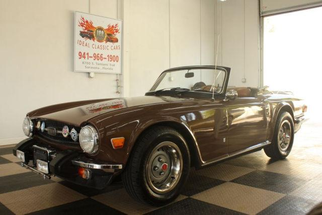 1975 Triumph Tr6 For Sale In Sarasota Florida Classified
