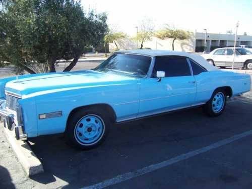 1976 Cadillac Eldorado Convertible American Classic In Phoenix Az