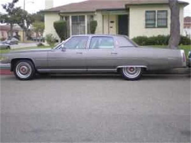 1976 Cadillac Fleetwood Brougham For Sale In Inglewood