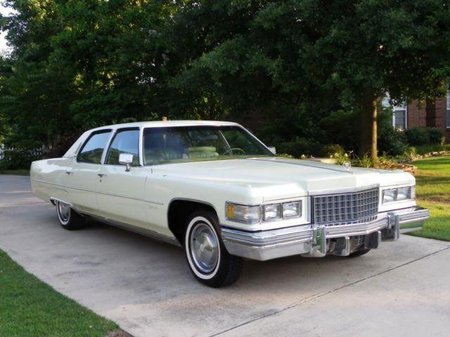 1976 Cadillac Fleetwood Brougham For Sale In New Market