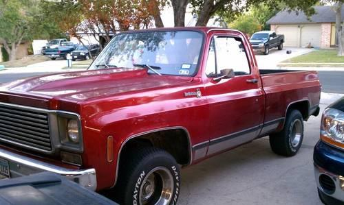 1976 chevy c10 2wd short bed for sale in san antonio texas classified. Black Bedroom Furniture Sets. Home Design Ideas