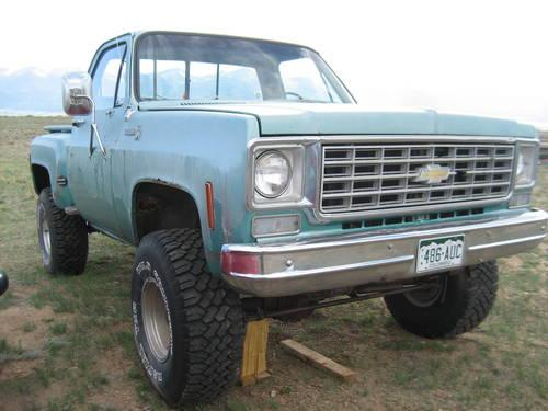 1976 chevy cheyenne parts