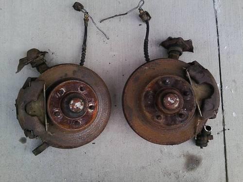 1976 ford granada front disc brake v8 lug spindles for. Black Bedroom Furniture Sets. Home Design Ideas